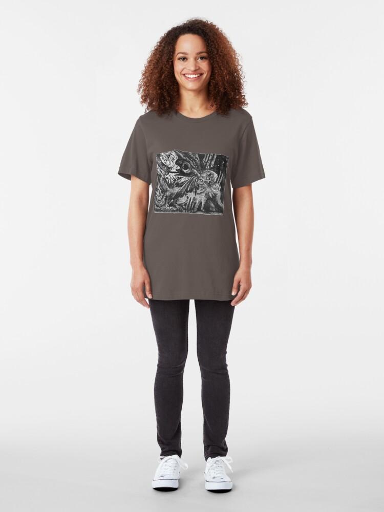 Alternate view of Strange Creature Slim Fit T-Shirt