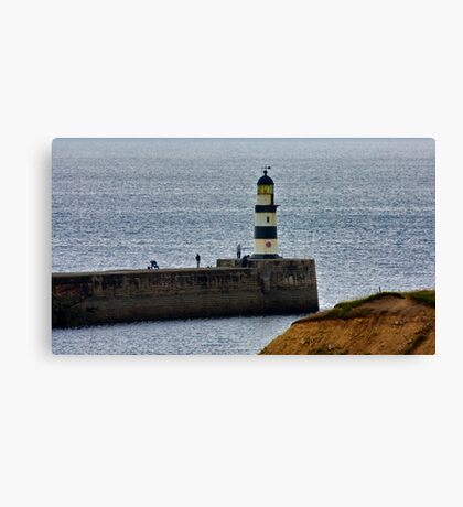 Seaham Harbour Light Canvas Print