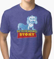 Story never ends! Tri-blend T-Shirt