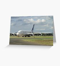 Love at first flight A<380 Greeting Card