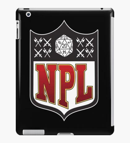Nerd Poker League iPad Case/Skin