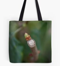 The start of something new. Tote Bag