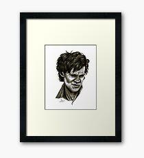 """Choices"" (Matt Smith/Doctor Who) Framed Print"