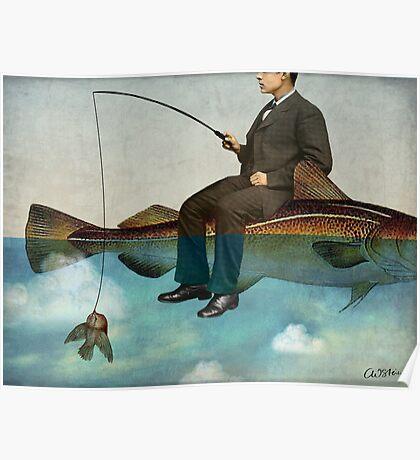 Sky Fishing Poster