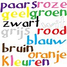 Dutch colour words by Morag Anderson
