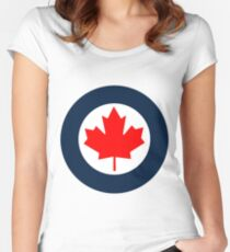 RCAF Roundel Women's Fitted Scoop T-Shirt