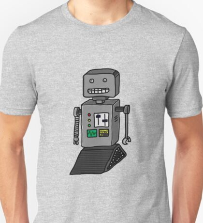 Robot doodle T-Shirt