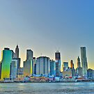 Old and New - NYC Skyline by sxhuang818