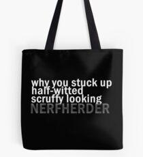 Nerfherder Tote Bag