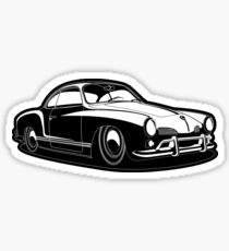 Karmann Ghia City Sticker
