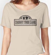 Camiseta ancha para mujer Cherry Tree Lane