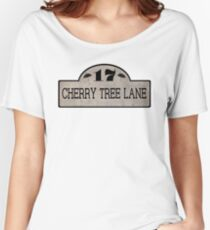 Cherry Tree Lane Women's Relaxed Fit T-Shirt