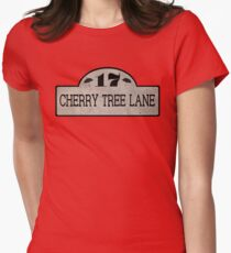 Cherry Tree Lane Women's Fitted T-Shirt
