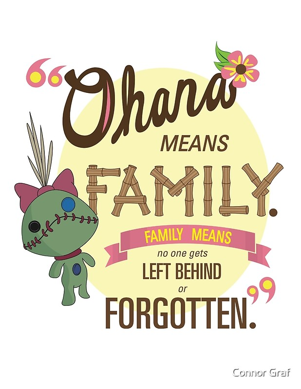 stitch ohana quote wallpaper - photo #21
