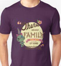 Ohana - Lilo and Stitch Quote T-Shirt