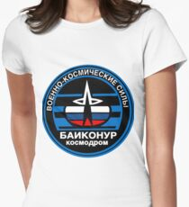 Baikonur Cosmodrome Logo Women's Fitted T-Shirt