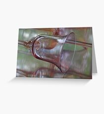 Reflected Vision ~ Glass Goblet Greeting Card