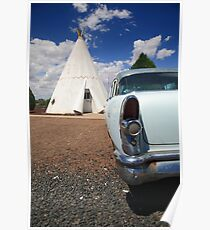Route 66 Wigwam Motel Poster