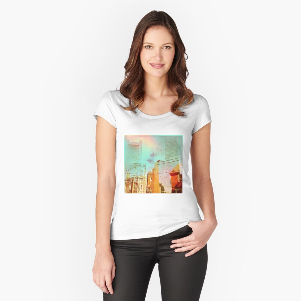 Urban #1 Women's Fitted Scoop T-Shirt Front