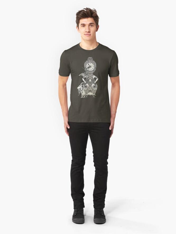 Alternate view of Clock Slim Fit T-Shirt