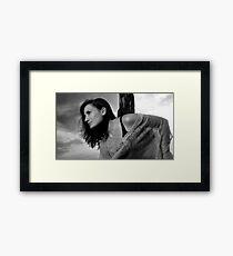 Standing In The Sun Framed Print