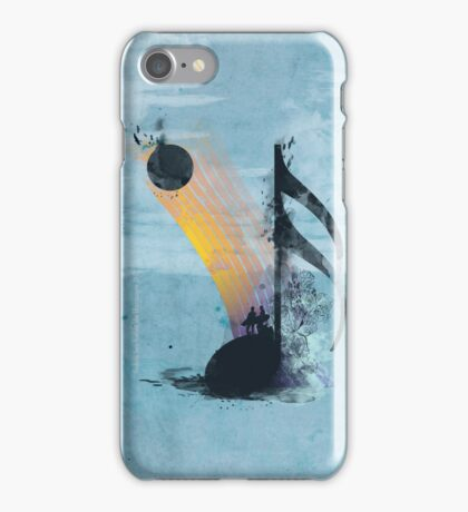 summer tune iPhone Case/Skin