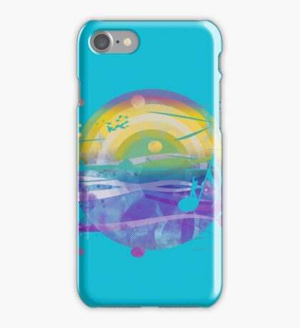 singing in the sea iPhone Case/Skin