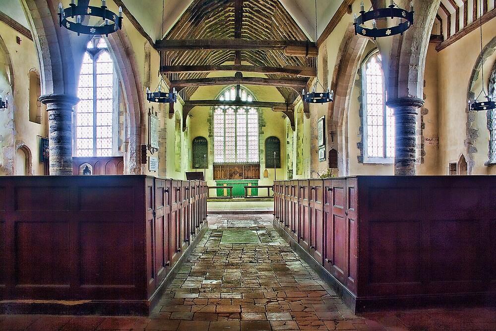 St Matthew Warehorne by Dave Godden