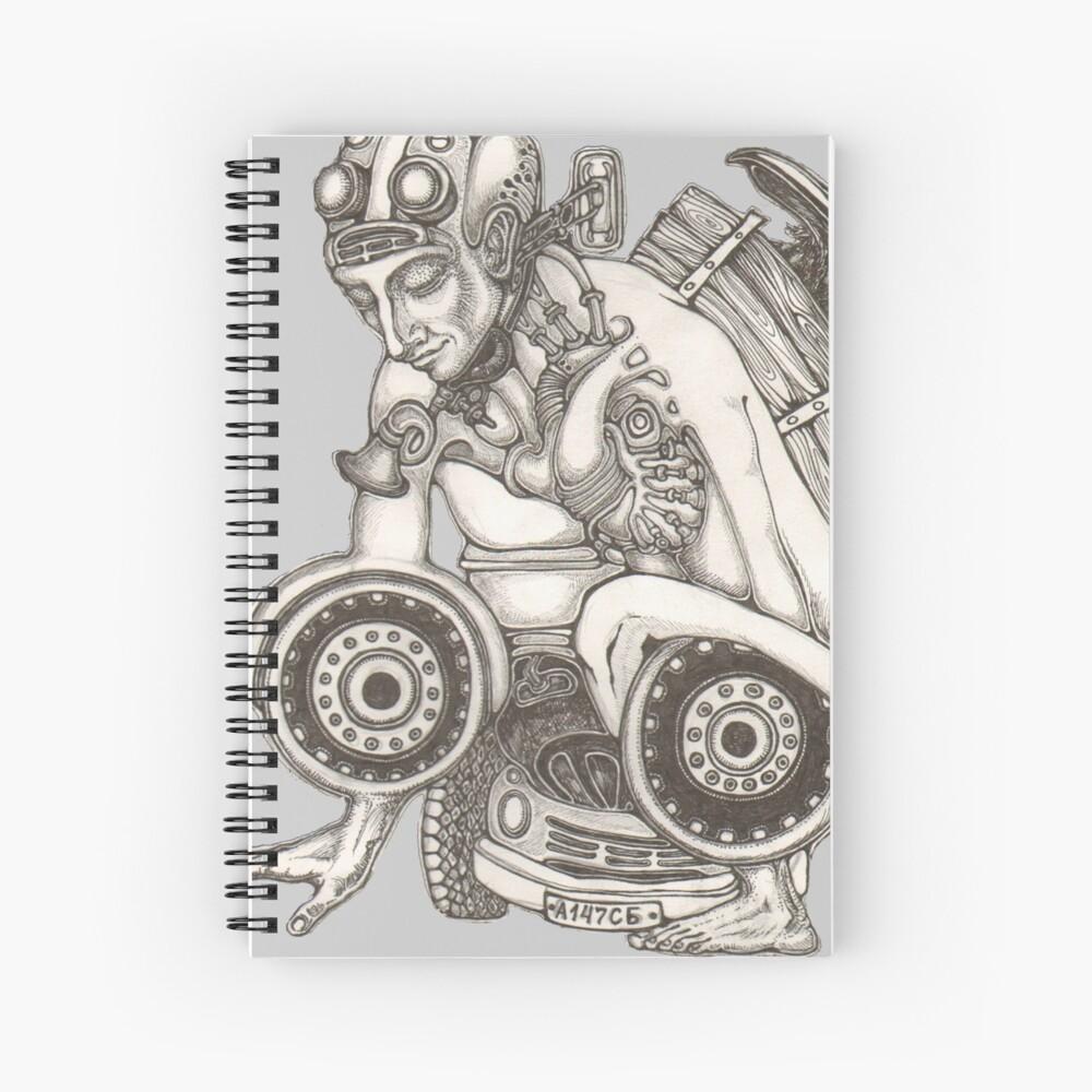 Automobile Heart & Soul Spiral Notebook