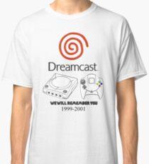 Dreamcast 4 Life Classic T-Shirt