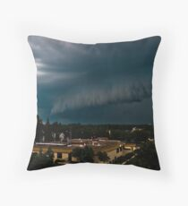 Shelf Cloud Throw Pillow