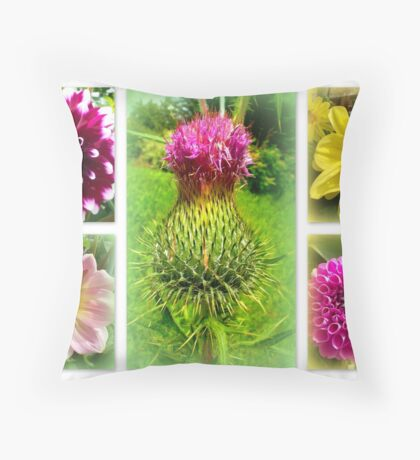 Blooming Marvellously! Throw Pillow