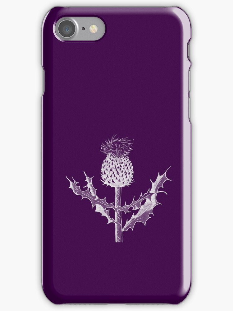 Scottish Thistle DuoTone by HWilso