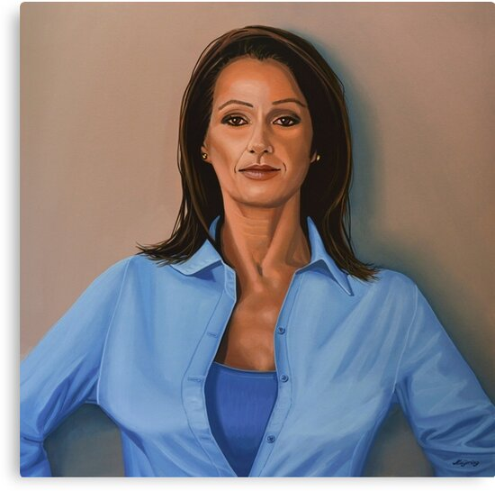 Nadia Comaneci painting by PaulMeijering