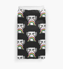 Rainbow Creature Duvet Cover