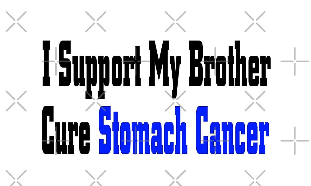 I Support My Brother Cure Stomach Cancer Awareness T Shirt by greatshirts