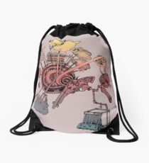 Science of Sleep 2 Drawstring Bag