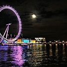 Night on the Thames by Barbara  Brown