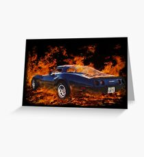 Hot Rod ! Greeting Card