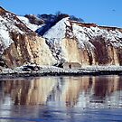 """""""Icing  Sewerby cliffs"""" by technochick"""