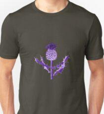 Purple Thistle DuoTone Unisex T-Shirt