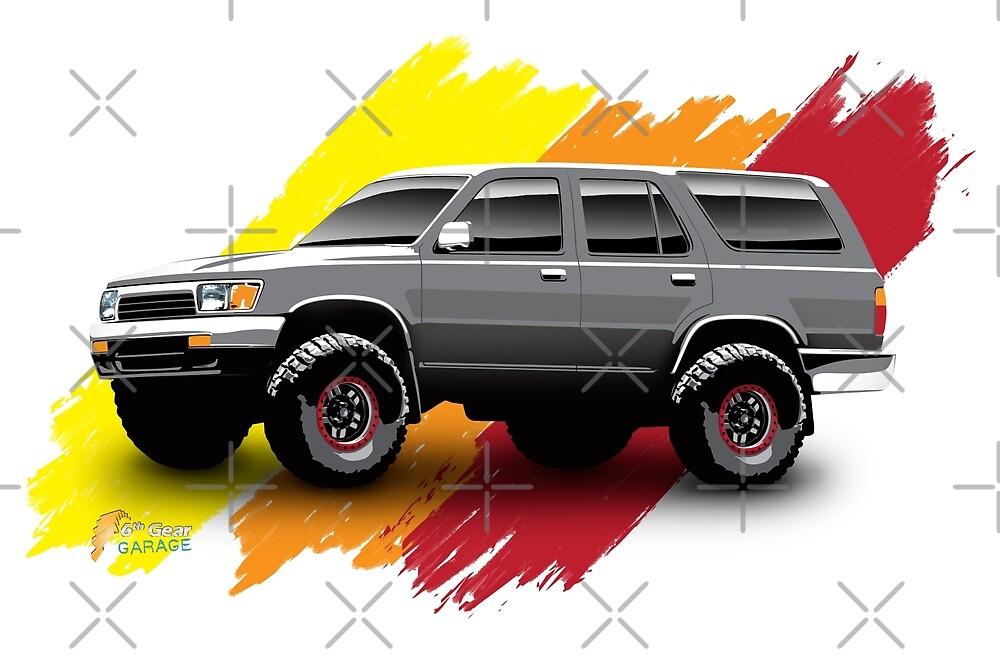 Toyota 4Runner 1990 by 6thGear
