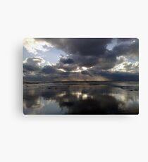 """Stormy Skies Sewerby"" Canvas Print"