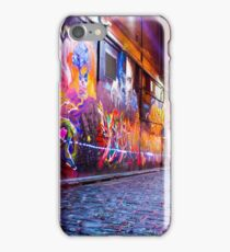 Art shines brightest in the dark iPhone Case/Skin