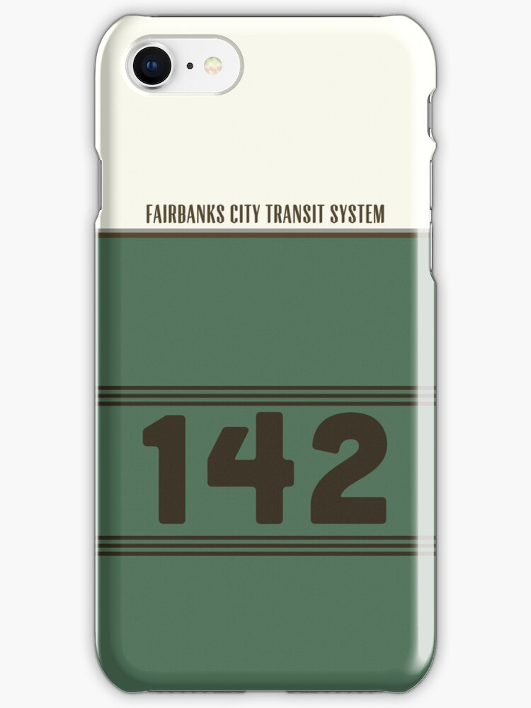 Into The Wild - Bus 142 iPhone Case by Sam K