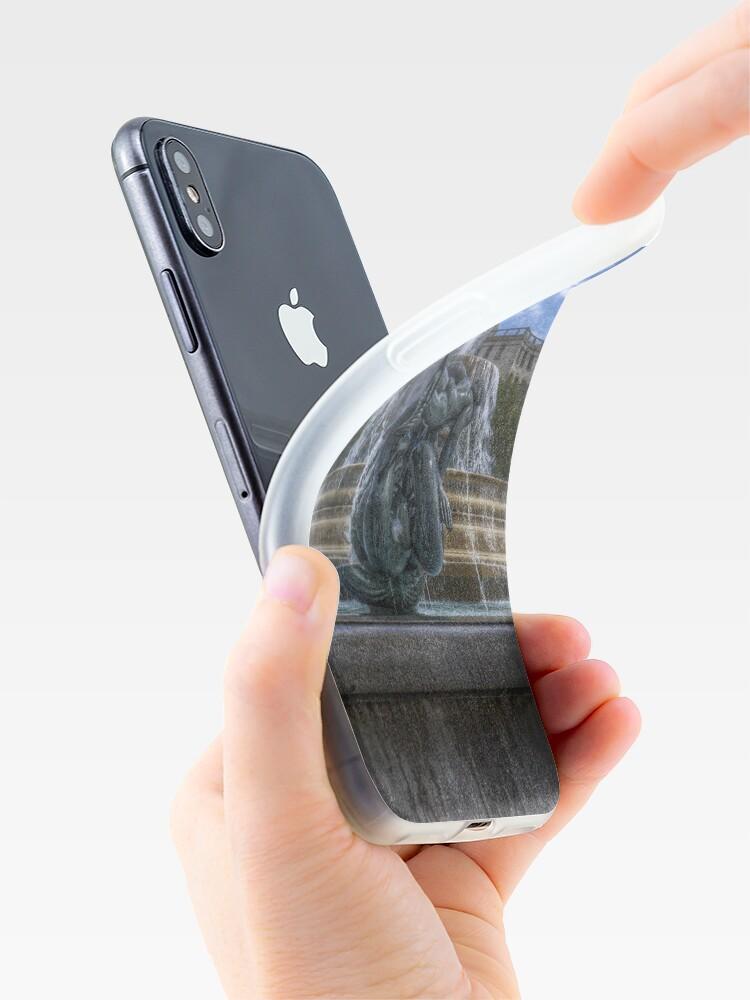 Alternate view of Trafalgar Square  fountain iPhone Case & Cover