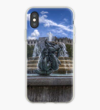 Trafalgar Square  fountain iPhone Case