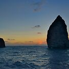 Aeolian sunset  by Andrea Rapisarda