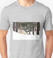 I am watching you - Timber Wolf Unisex T-Shirt