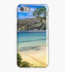 Looking over Chowder Bay, Sydney iPhone Case/Skin